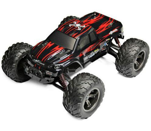 top popular S911 1:12 High Speed 42KM H 2.4G Full Proportion Monster Truck proof Waterproof OFF-ROAD Supper Toy RC Car Free Shipping 2020