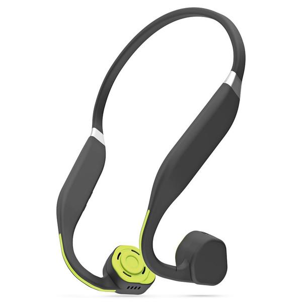 Vidonn F1 Wireless Bone Conduction Headphones Auriculares Bluetooth de oreja abierta con micrófono para gimnasio Running Sweatproof Auriculares con cancelación de ruido