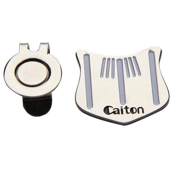 NEUE Golf Putting Ausrichtung Zielwerkzeug Ball Marker mit magnetischen Hut Clip