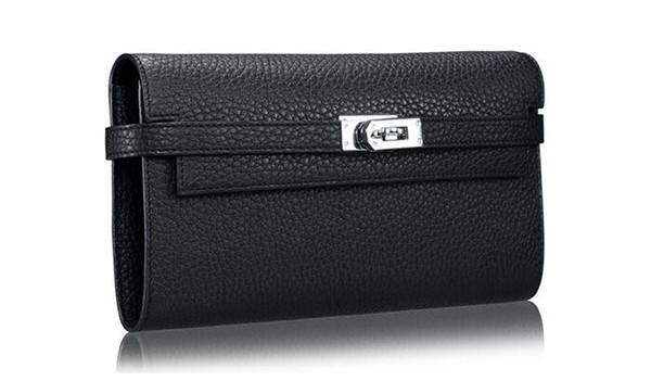 Luxury Women's Purse Thin Wallet Handbags capacity leather H wallet female long clutch women purse New Arrival HOT !