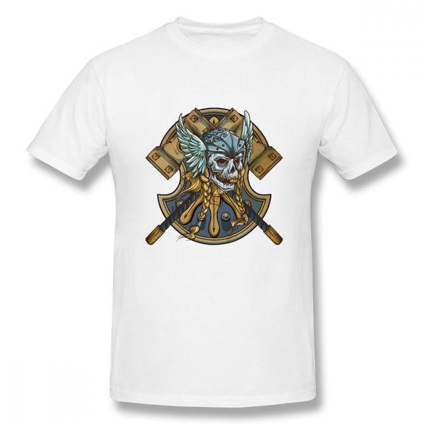 T-shirt Maglietta J1962 Drakkar Viking Vegvisir Simbolo
