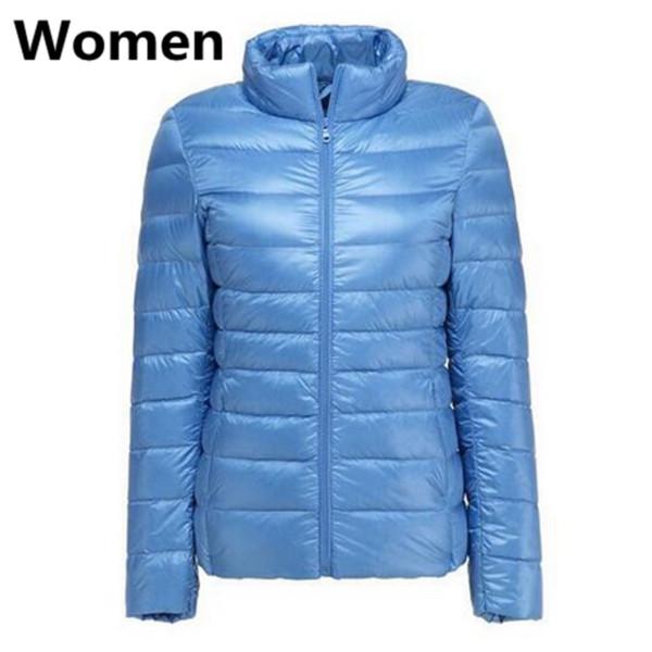 Женщины Вода голубая
