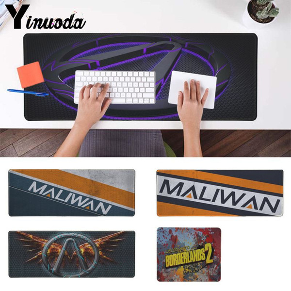Yinuoda Vintage Cool Maliwan Borderlands Comfort Mouse Mat Computer Tablet anime Mouse Pad Large Grande Gaming Mice mat