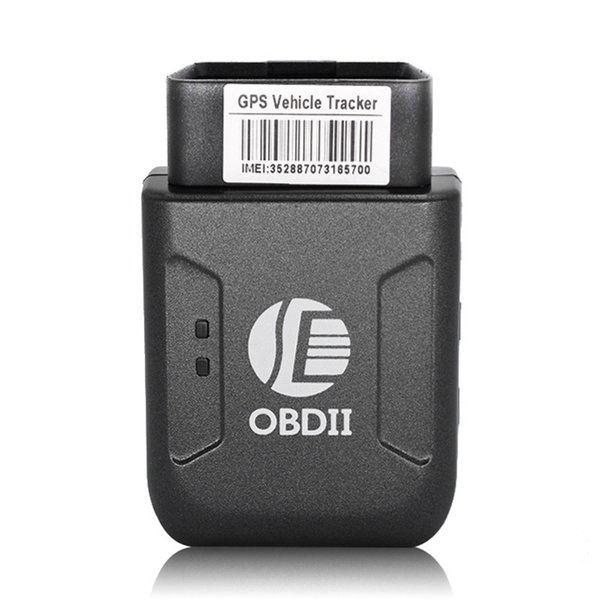 Mini GPS TK206 OBD 2 Real Time GSM Quad Band Anti-theft Vibration Alarm GSM GPRS Mini GPRS Car Tracker Tracking OBD II