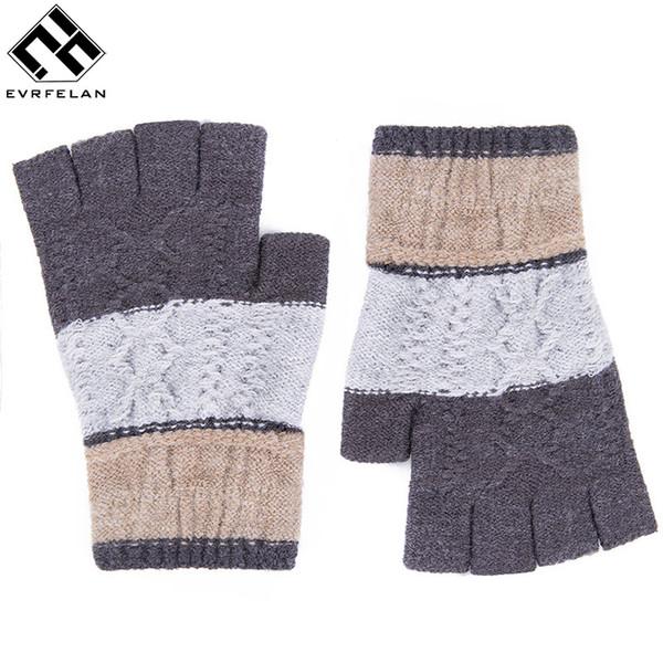 Compre Evrfelan Brand Gloves Mujeres Hombre Guantes Sin Dedos ...