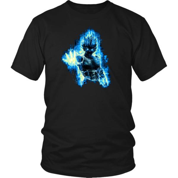 Cool Vegeta Blue Shirt - Super Saiyan God Vegeta T-shirts - Vegeta Tee Shirts Cool Casual Pride T Shirt Men Unisex New Fashion