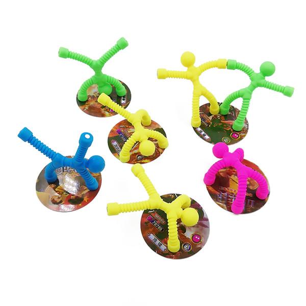 Otizm DEHB Anksiyete İçin Mıknatıs Bendy Bay Çocuk Komik Oyuncak Action Figure EDC El Fidget Duyu Oyuncak Antistres Gadget