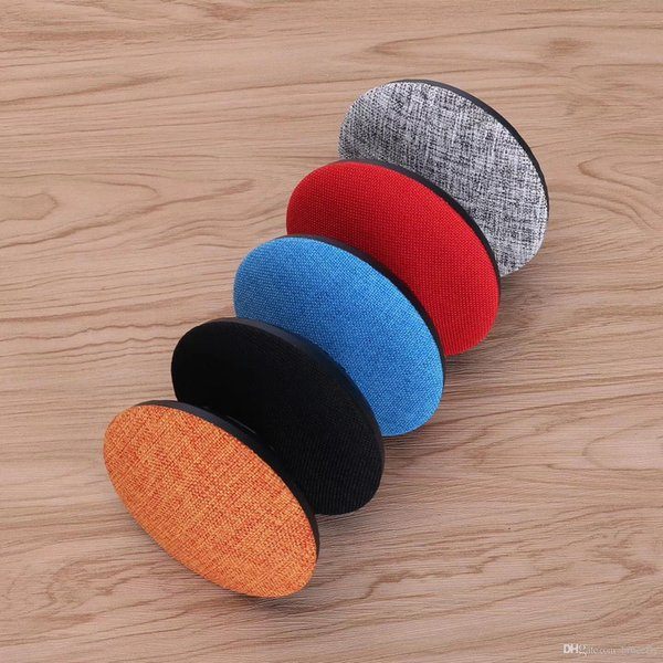 10PCS Wireless Bluetooth Portable Mini Speaker Subwoofers Music Player 3W Cloth Net TF FM USB for iPhone 6 Samsung Tablet