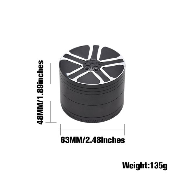 Grinder Classic 3 Teilig 3cm Grinder Crusher Kräutermühle Gewürzmühle Bullet