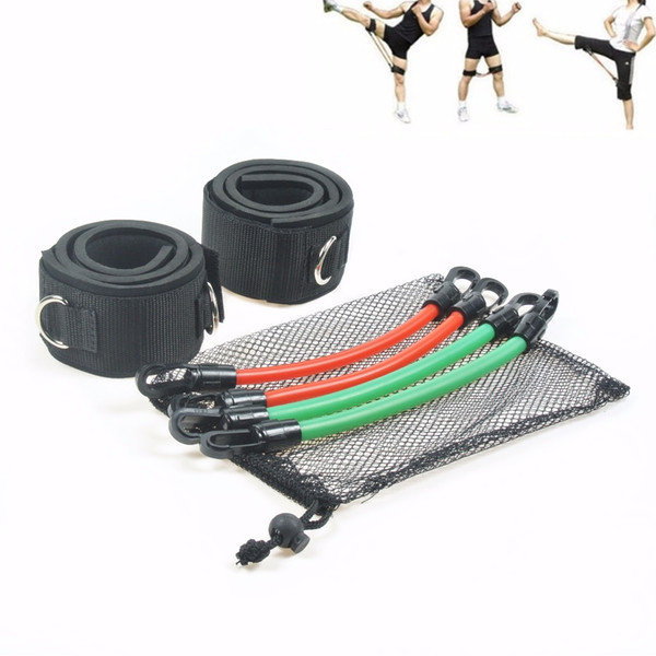 Thigh Bands Leg Training Workout Fitness Resistance Bands Tubes Natural rubber For Power Kick Boxing Taekwondo Thai Punch Karate