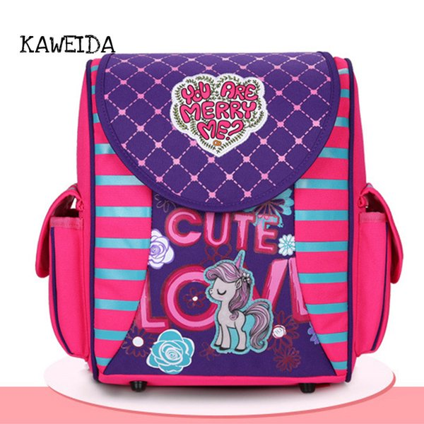 Cute kindergarten kids Orthopedic Schoolbag School Bags for Toddler Girls Boys Cool Racing Car School Backpack