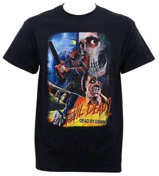 Custom Shirts Short Men Authentic EVIL DEAD 2 Dead By Dawn Thai Movie Poster T-Shirt Size:S-3XL NEW O-Neck Fashion 2018 Tees