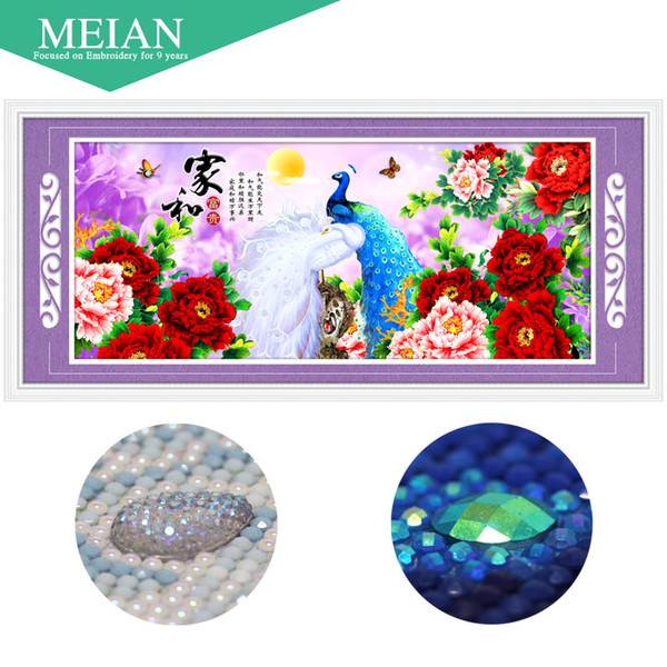 Era,Special Shaped,Diamond Embroidery,Peacock,Chinese Style,5D,Diamond Painting,Cross Stitch,3D,Diamond Mosaic,Decoration