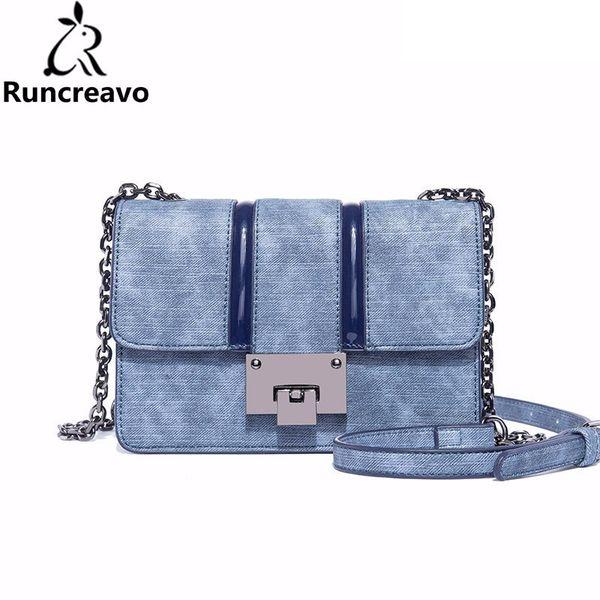 2018 crossbody bags for women leather handbags luxury handbags women bags designer cowboy color chain shoulder bag sac a main