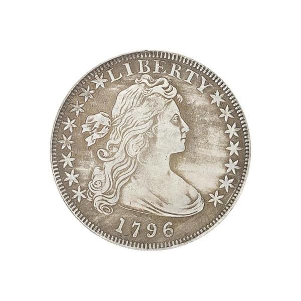 1796 Les pièces de monnaie de la statue de la liberté américaine