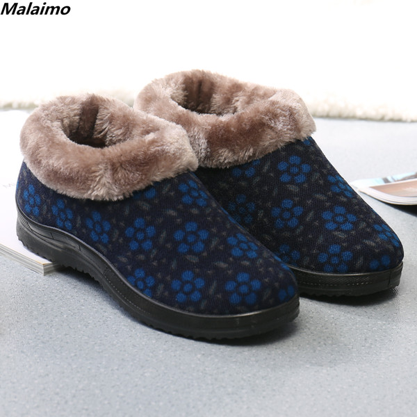 2018 Winter Beijing cloth shoes women's shoes, high quality antiskid warm - aged cotton shoes, manufacturers direct