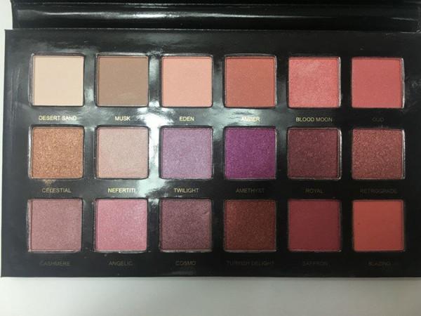 Hot Cosmetics Beauti DESERT DU Lidschatten 16 Farben Palette Shimmer Matte Lidschatten Pro Augen Make-up Freies Verschiffen durch DHL