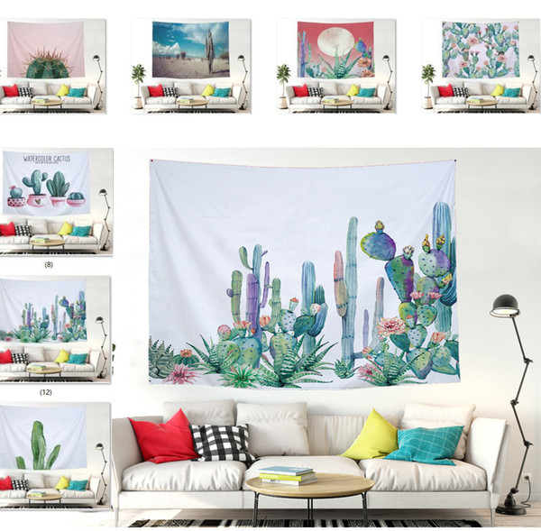 Wall Hanging Tapestry Cactus Tapestry Bedroom Living Room Rug Home  Decorative Tapestry Picnic Beach Mat 60x78.7inch 59x51inch Celtic Tapestry  Celtic ...