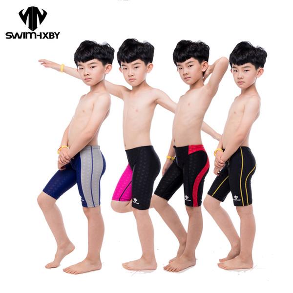 1c66308fa Wholesale-HXBY Professional Kids Swimwear Boys Swimsuit Mens Swim Trunk Boy  Swimming Trunks For Children