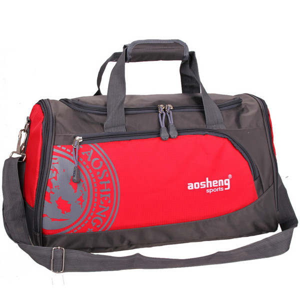 Nylon Men Women Sports Gym Bags for Women Fitness Unisex Athletic Training Shoulder Bags Fitness and Exercise Bag for Shoes