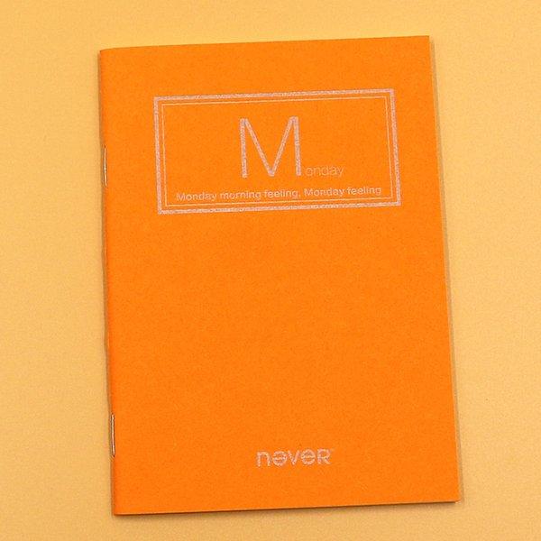 Monday Orange 95x138mm