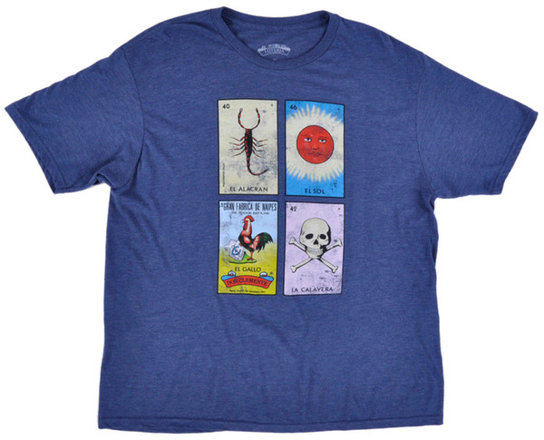 Details zu Loteria Card Game T-Shirt Mens Heather Navy XL Funny free shipping Unisex Casual gift