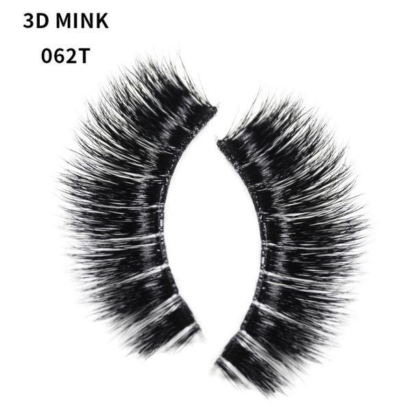 2018 Pure Handmade Fake Eyelashes Multi-layers lashes extension 3D Thick False Eyelash Natural Curl Mink Lashes Euro Smokey Smoking Eye make