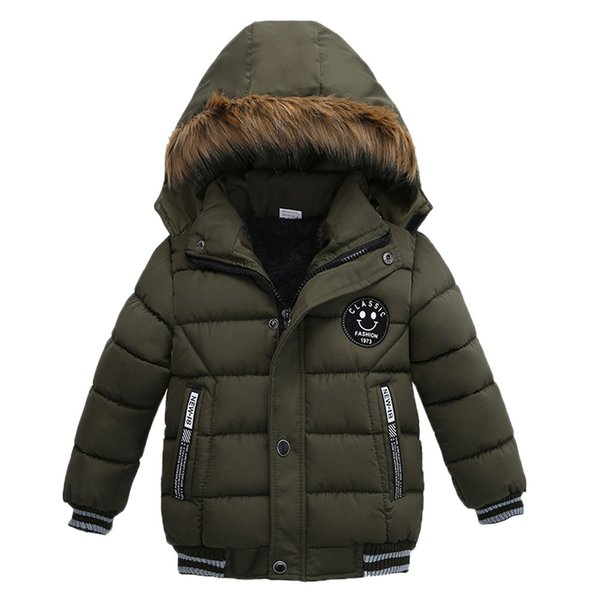 Genuine MUQGEW Kids Jacket Fashion Kids Coat Boys Girls Thick Coat Padded Winter Jacket Clothes Boys #T