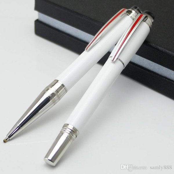 Promotion Urban Speed Metal White Rollerball pen/Ballpoint pen with crystal school office luxury hot sale brand pens for writing