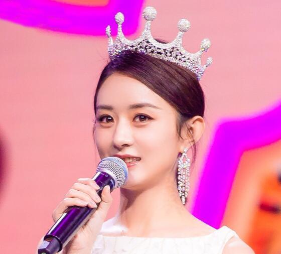 Japanese and Korean style rhinestone wedding crown wedding dress accessories the new round princess crown