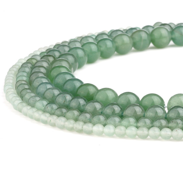 """Natural Grey Agate Gemstone Round Loose Beads For Jewellery Making Strand 15/"""" UK"""