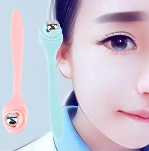 Rimozione delle sfere di massaggio del viso Occhio scuro Cerchio rughe a 360 gradi Strumento di assistenza sanitaria per massaggiatori a rulli KKA6156