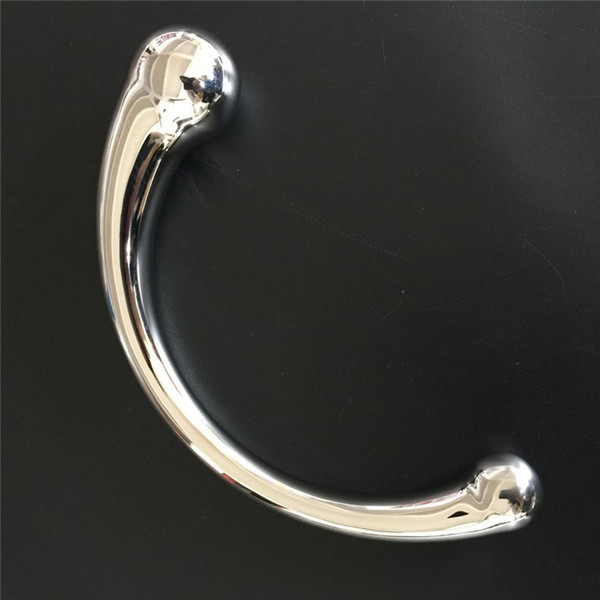 Wholesale Stainless Steel Anal Plug G Point P Point Massager Magic Wand Dildo Sex Toys For Men And Women