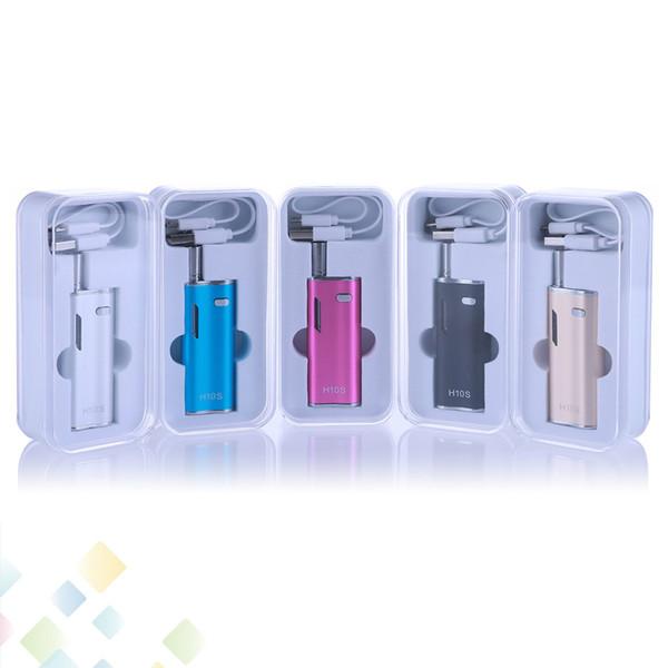 Original Hibron H10S Oil Starter Kit 650mAh Battery Box Mod Preheating Thick Oil CE3 Cartridges Atomizer Vape O pen Kit DHL Free