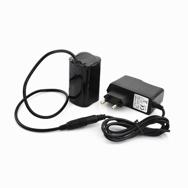 Bike Light 4x 18650 batería 8.4V para SolarStorm X2 X3 T6 Bike Lamps + Charger Envío gratis