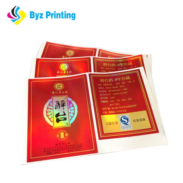 Хорошее saled самое лучшее качество дешевая цена прокатанный бумажный шампунь слипчивый стикер ярлыки печатание