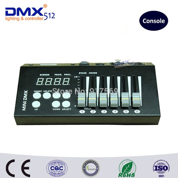DHL Free Shipping 54CH mini dmx controller console dj console dj controller DJ lighting controller 9V battery / 12V DC powered