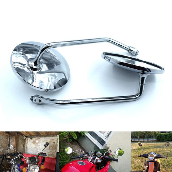 Honda ile 10mm için yan dikiz yan ayna Kawasaki z750 Suzuki Ducati