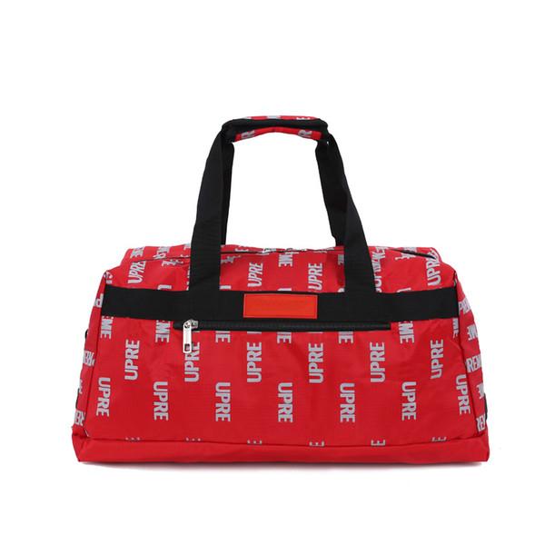2018 novo estilo ao ar livre mochila de viagem sacos de marca de moda carta imprimir bagagem grande capacidade homens e mulheres casual esporte sacos impermeáveis