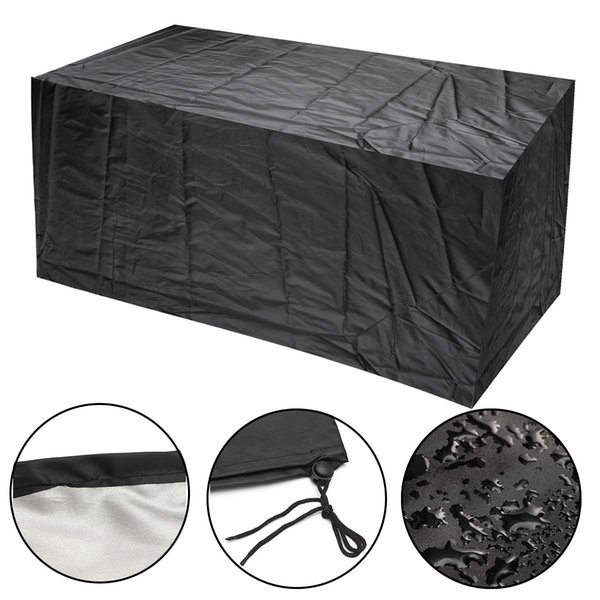 3 Size Outdoor Waterproof Furniture Protector Table Set Chair Sofa Cover Garden Patio Seater Chair Table Cloth UV Resistant