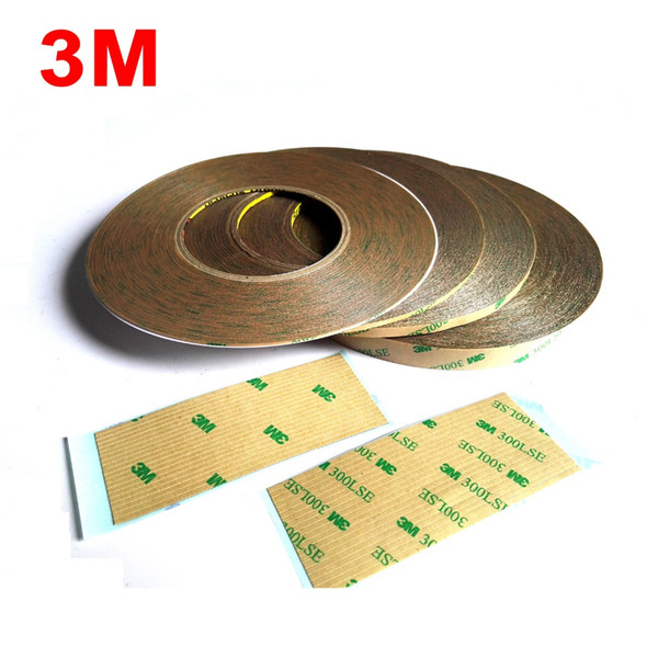 top popular Wide Choose (1mm~15mm) Super Strong 3M 9495LE 300LSE Double Sided Heavy Duty Scoth Tape, Clear Wide for Phone Screen Display LCD 2016 2021