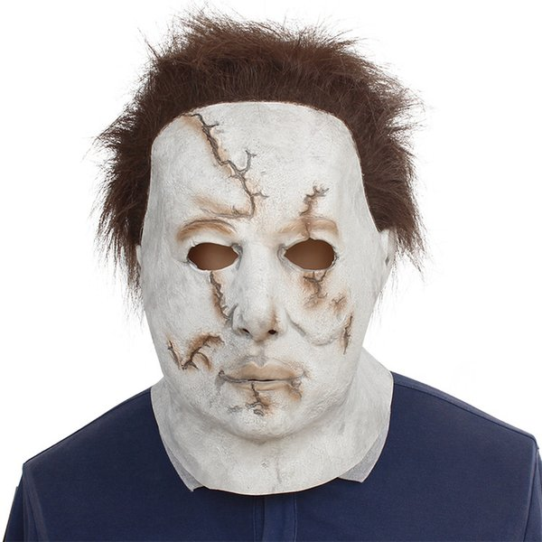 Cos McMillan máscara enmascarada Halloween Horror máscara látex bar Prom película accesorios Party Masks mk686