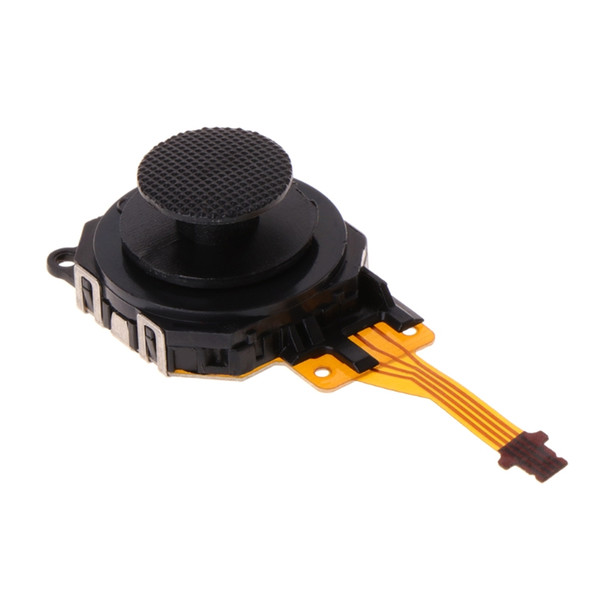 Black 3D Analog Joystick Thumb Stick Button Sensor Module for PSP 3000 PSP3000 Replacement Part DHL FEDEX EMS FREE SHIPPING