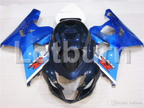 Fit For Suzuki GSXR GSX-R 600 750 GSXR600 GSXR750 2004 2005 K4 04 05 Motorcycle Fairing Kit High Quality ABS Plastic Injection Molding A296