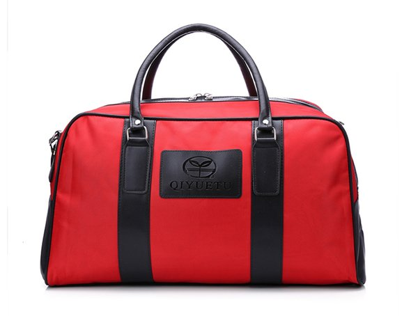 Custom Red High Quality Water Proof Light Weight Travel Duffle Bag