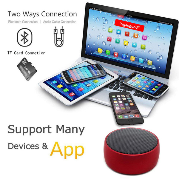 Mini Wireless Bluetooth speakers with heavy bass for mobile phone or cell phone