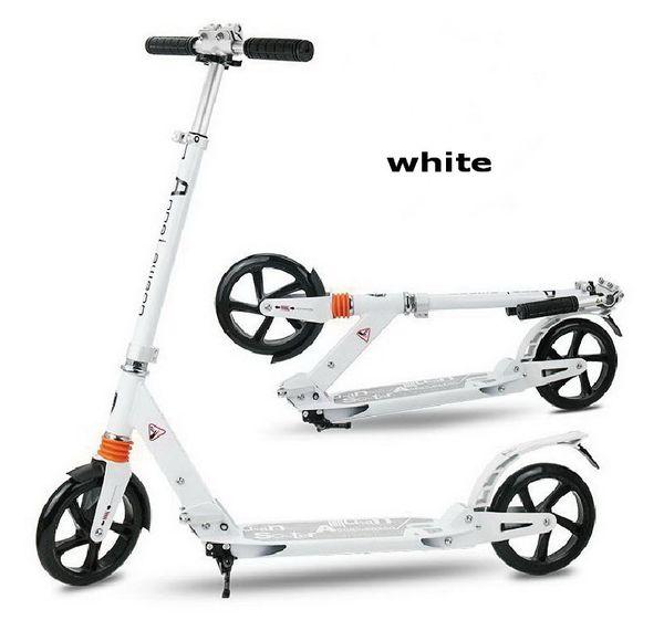 Adolescente di trasporto libero di S / motorino pieghevole adulto, motorino piegante di 2 ruote, motorino di spinta di calcio