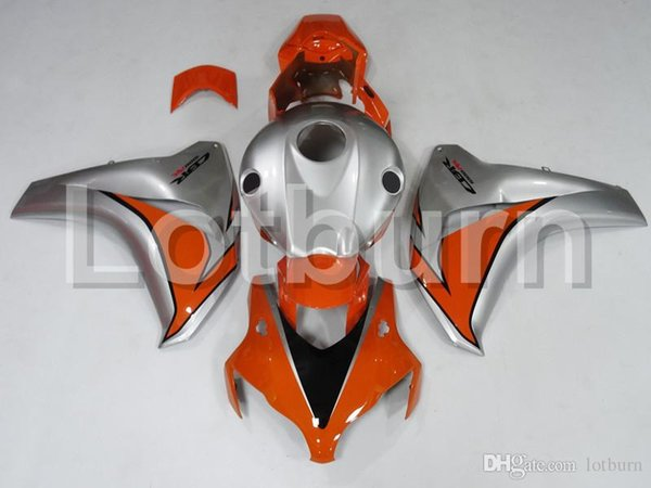 Motorcycle Fairing Kit Fit For Honda CBR1000RR CBR1000 CBR 1000 RR 2008 2009 2010 2011 Fairings kit High Quality ABS Plastic Injection A566