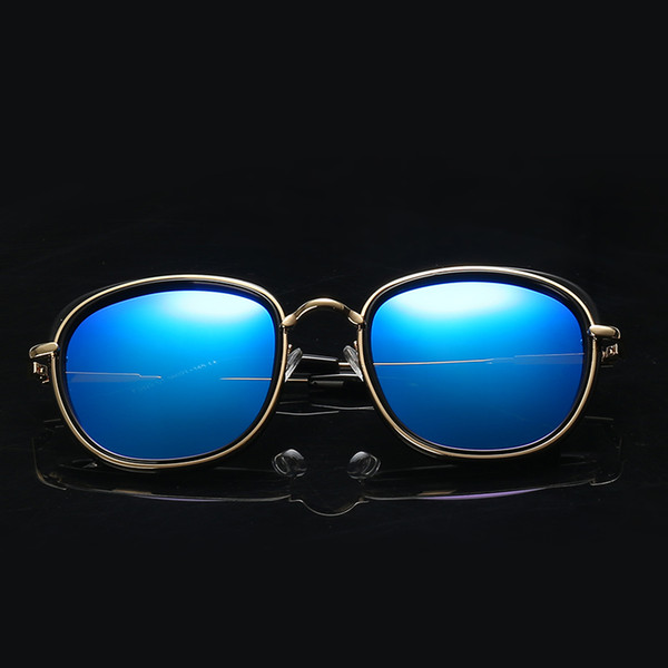2018 New Multi Color UV400 Full Frame Camouflage Polarized Sunglasses Clear Vision Sunglasses With Glass Cloth Box Bag
