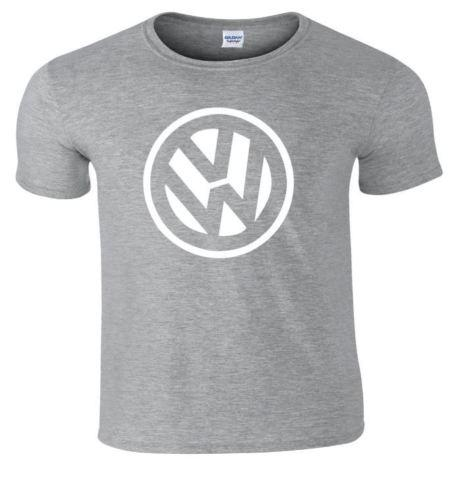 VW Badge Off Set Polo Golf T Shirt Funny free shipping Unisex Casual gift
